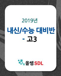 2019년 고3 내신 수능 대비반