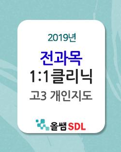 2019년 고3 일대일 클리닉